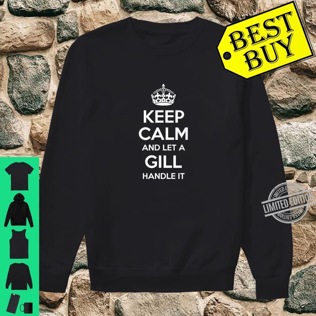 Damen Familienname Gill T-Shirt Team Hinzufügen Jeder Name Kann Dienstjahre