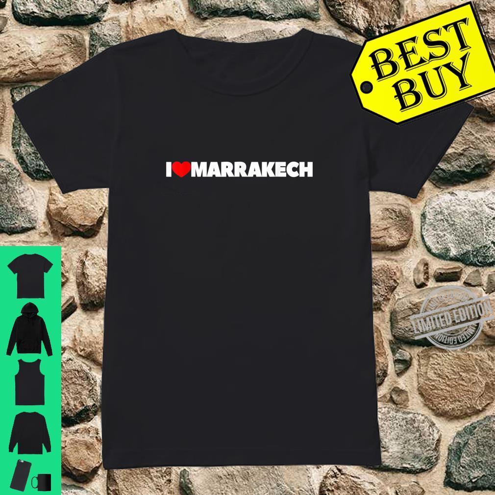I love coeur Marrakech Mesdames t-shirt
