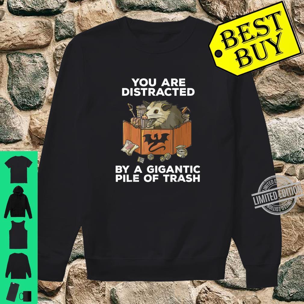 Rpg Pen And Paper Opposum Roleplaying Possum Meme Pnp Dm Shirt